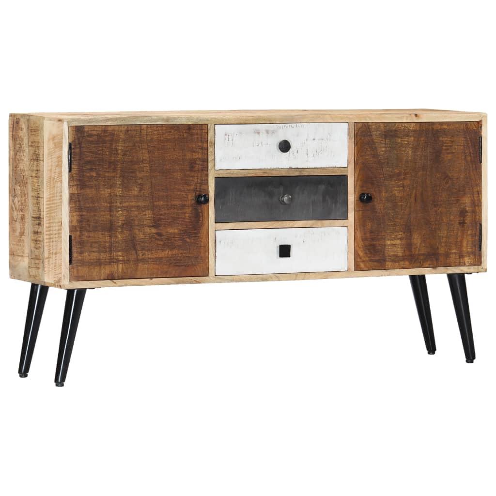 vidaXL Servantă, 118 x 30 x 62 cm, lemn masiv de mango vidaxl.ro