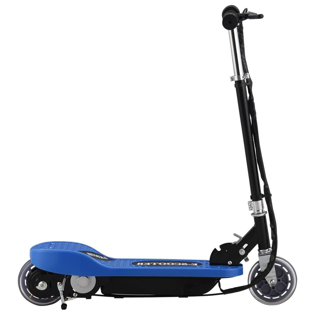 vidaXL Elektrická koloběžka 120 W modrá