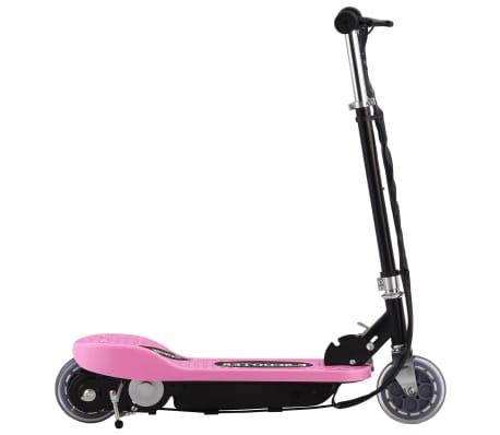 vidaXL elektrisk løbehjul 120 W pink