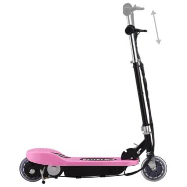 vidaXL Step elektrisch 120 W roze[2/9]