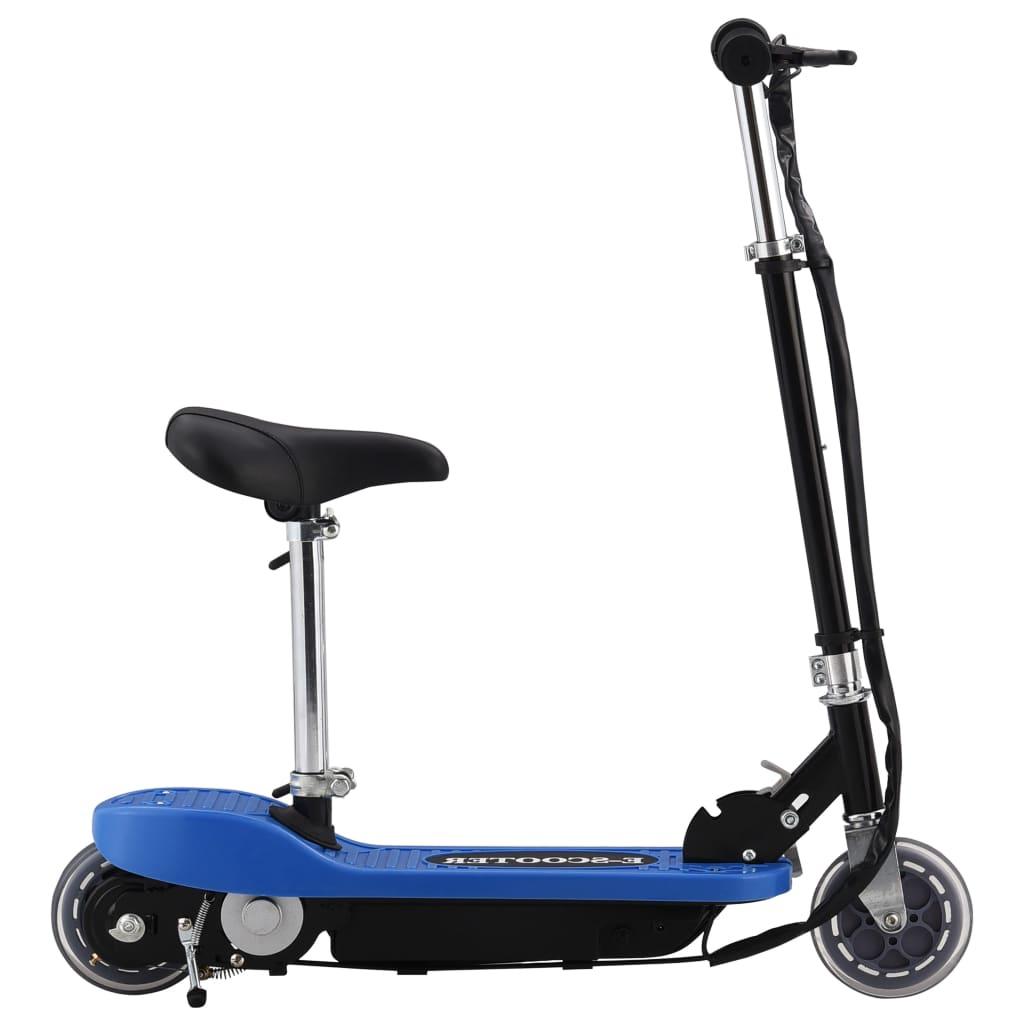 vidaXL Step elektrisch met zitje 120 W blauw