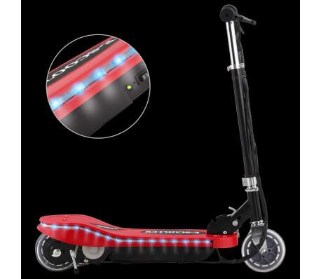 vidaXL Step elektrisch met LED 120 W rood[2/11]
