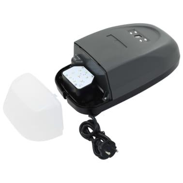 vidaXL Profi Garagentorantrieb mit Fernbedienung und LED 650 N 2,24 m[4/7]