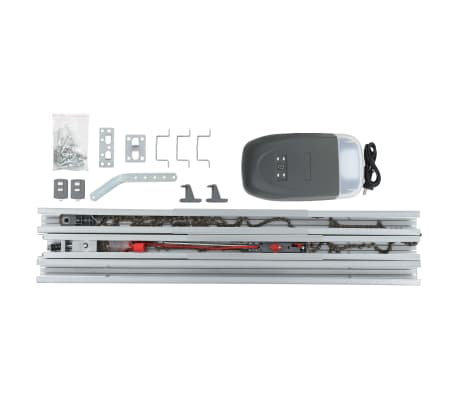 vidaXL Profesionálny pohon pre garážové dvere s diaľkovým ovládaním a LED 800 N 2,84 m[6/7]