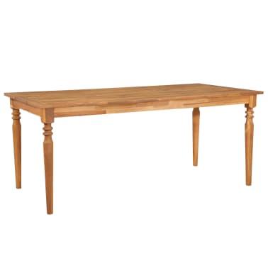 vidaXL Valgomojo stalas, 170x90x75cm, akacijos med. masyvas (44256)[1/5]