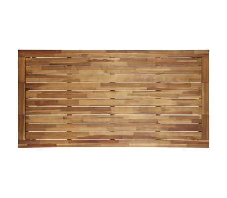 vidaXL Valgomojo stalas, 170x90x75cm, akacijos med. masyvas (44256)[3/5]