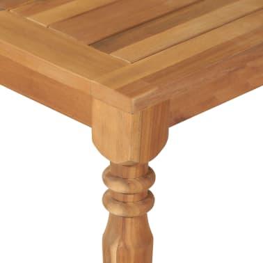 vidaXL Valgomojo stalas, 170x90x75cm, akacijos medienos masyvas[4/5]