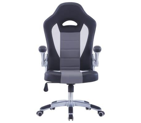 vidaXL Gamingstoel kunstleer zwart[2/9]