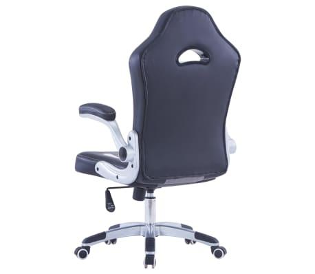 vidaXL Gamingstoel kunstleer zwart[4/9]