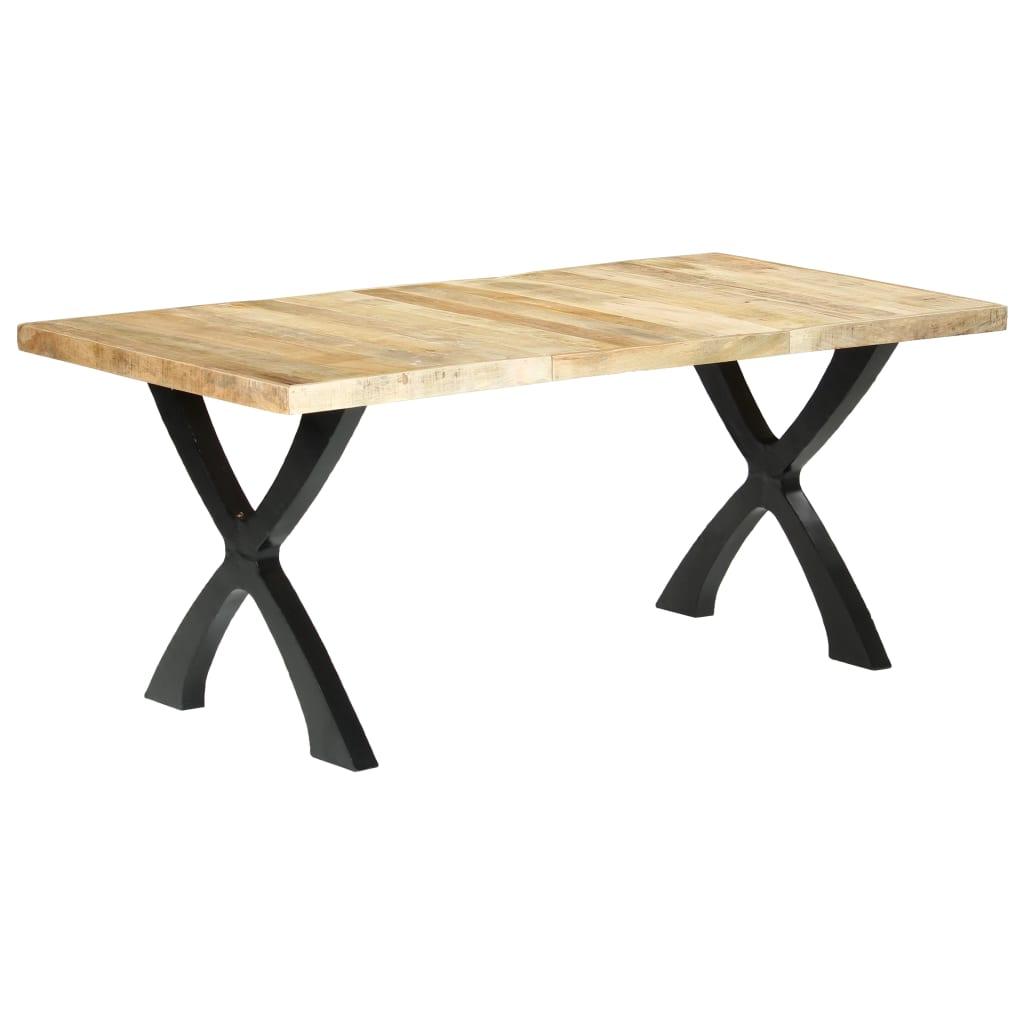vidaXL Blagovaonski stol od masivnog drva manga 180 x 90 x 76 cm