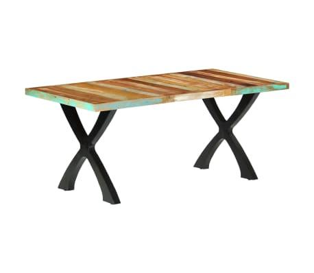 vidaXL Eettafel 180x90x76 cm massief gerecycled hout[13/14]