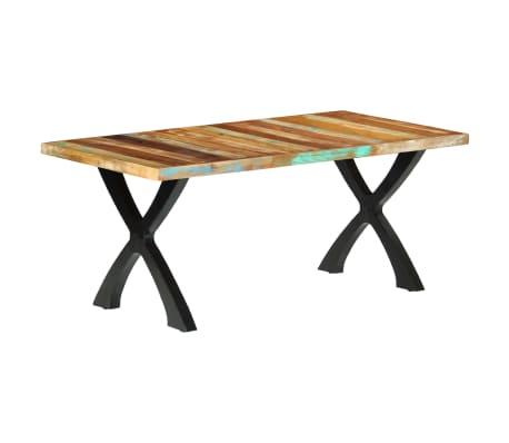vidaXL Eettafel 180x90x76 cm massief gerecycled hout[14/14]