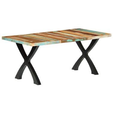 vidaXL Eettafel 180x90x76 cm massief gerecycled hout[11/14]