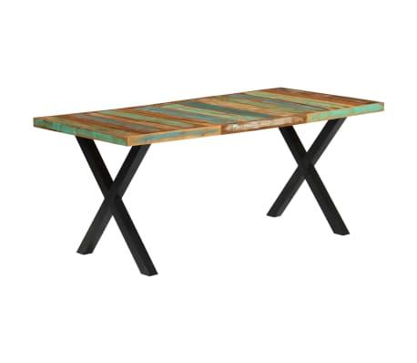 vidaXL Eettafel 180x90x76 cm massief gerecycled hout[13/13]