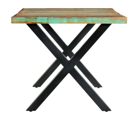 vidaXL Eettafel 180x90x76 cm massief gerecycled hout[4/13]
