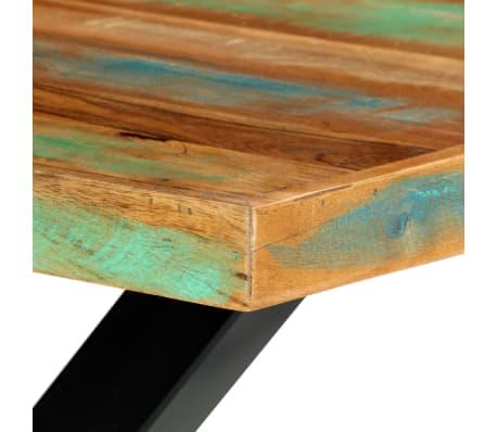 vidaXL Eettafel 180x90x76 cm massief gerecycled hout[6/13]