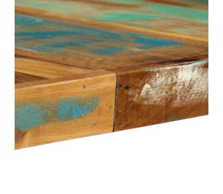 vidaXL Eettafel 180x90x76 cm massief gerecycled hout[8/13]