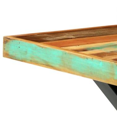 vidaXL Eettafel 180x90x76 cm massief gerecycled hout[7/13]