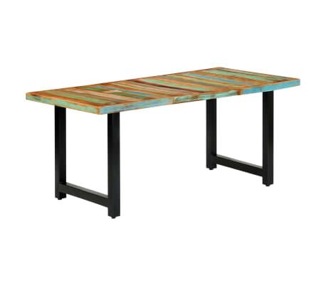 vidaXL Eettafel 180x90x76 cm massief gerecycled hout[12/14]