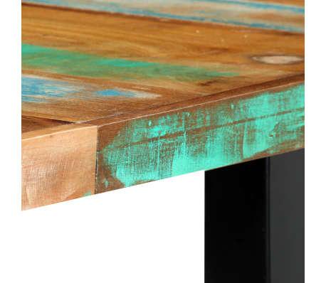 vidaXL Eettafel 180x90x76 cm massief gerecycled hout[5/14]