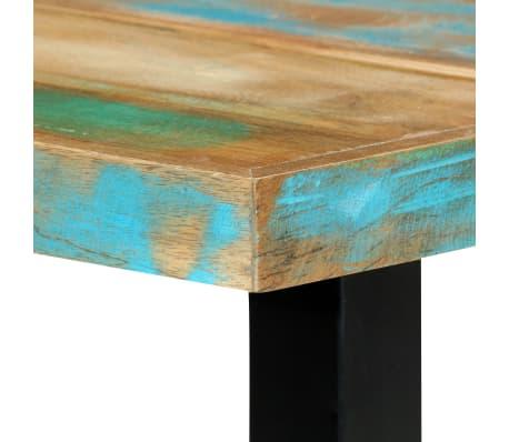 vidaXL Eettafel 180x90x76 cm massief gerecycled hout[6/14]