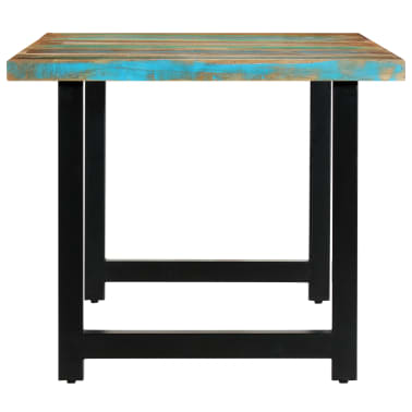 vidaXL Eettafel 180x90x76 cm massief gerecycled hout[3/14]