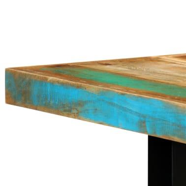 vidaXL Eettafel 180x90x76 cm massief gerecycled hout[7/14]