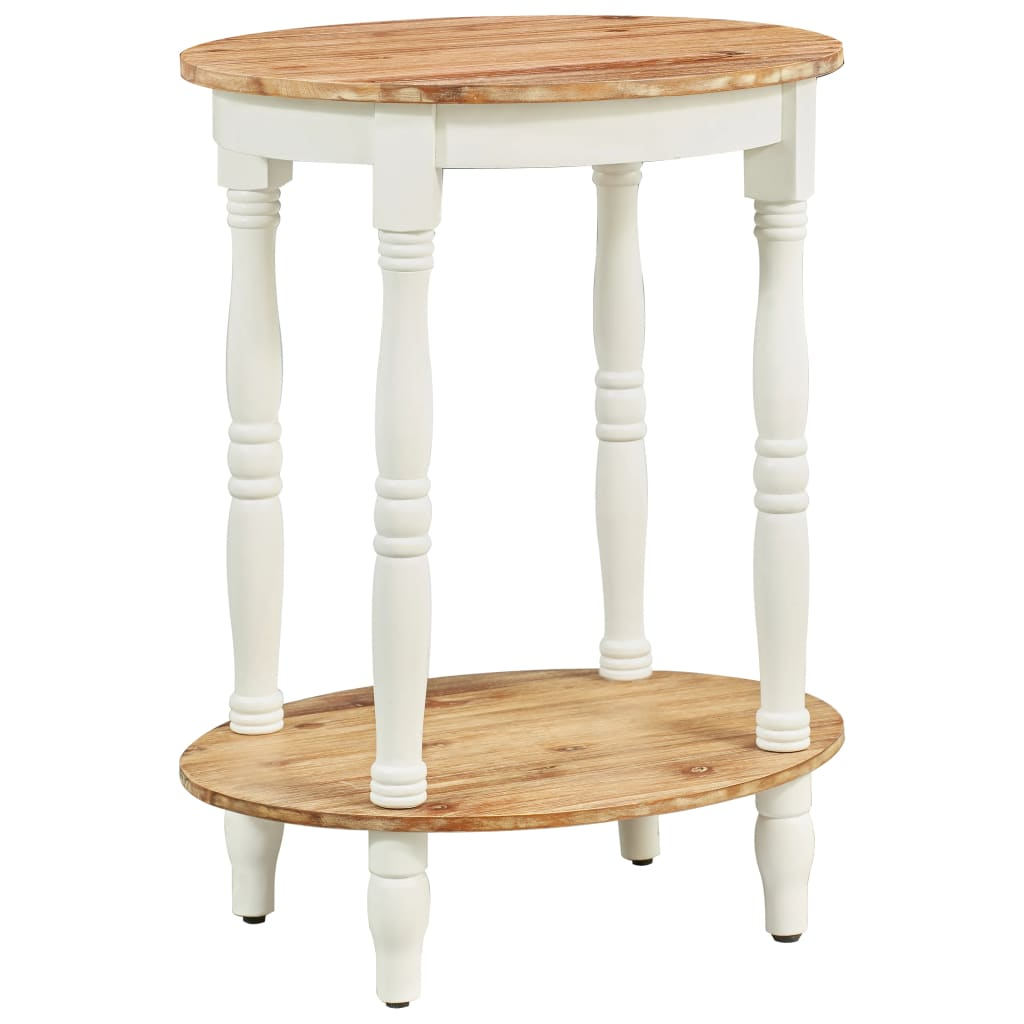 vidaXL Odkládací stolek 50 x 40 x 66 cm masivní akáciové dřevo