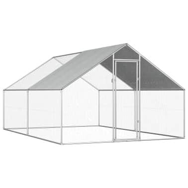 vidaXL Outdoor Chicken Cage 9