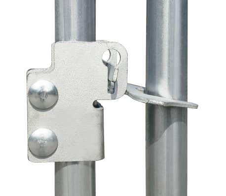 vidaXL Outdoor Chicken Cage 9'x13.1'x6.6' Galvanized Steel[5/6]