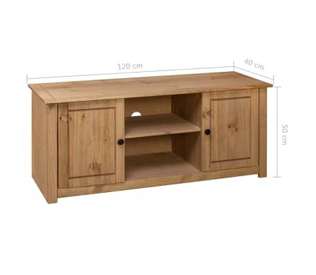 vidaXL Tv-kast Panama Range 120x40x50 cm massief grenenhout[9/9]