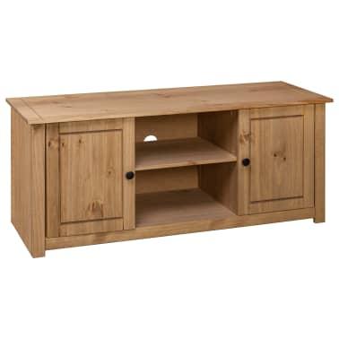 vidaXL Tv-kast Panama Range 120x40x50 cm massief grenenhout[4/9]