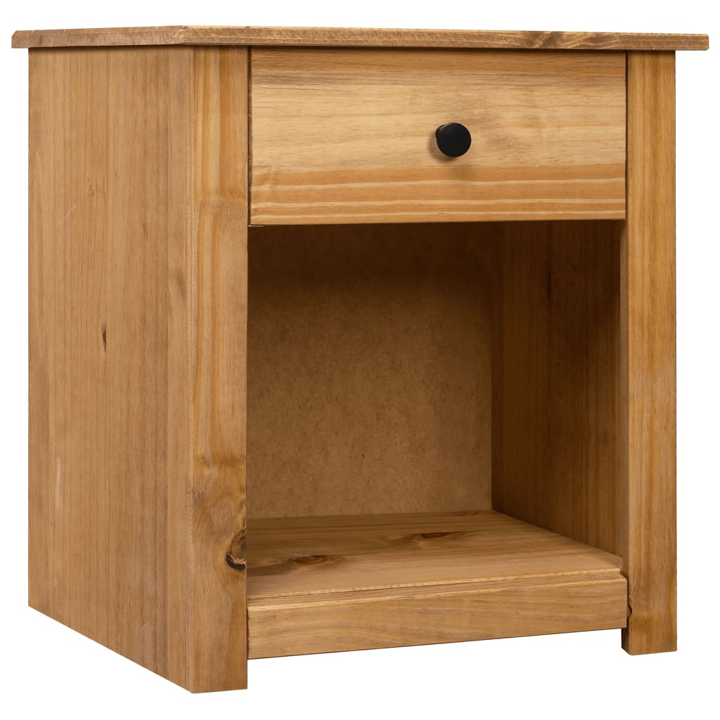 vidaXL Noční stolek 46 x 40 x 57 cm masivní borovice řada Panama