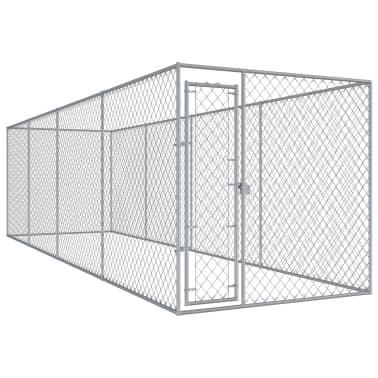 "vidaXL Outdoor Dog Kennel 299""x75.6""x78.7""[1/5]"