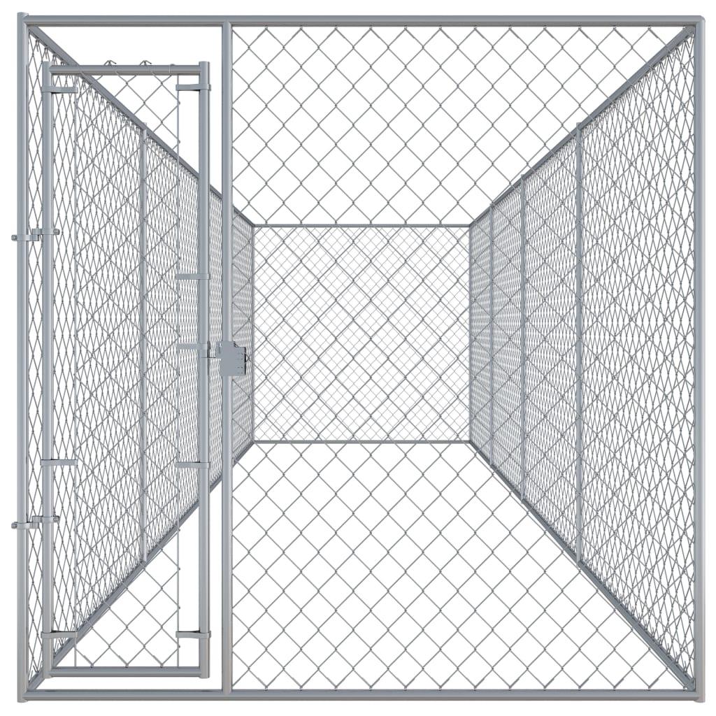 vidaXL Hondenkennel voor buiten 7,6x1,9x2 m
