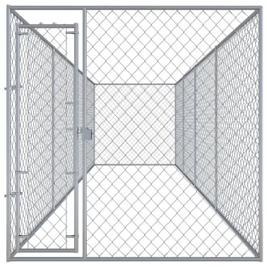 "vidaXL Outdoor Dog Kennel 299""x75.6""x78.7""[2/5]"