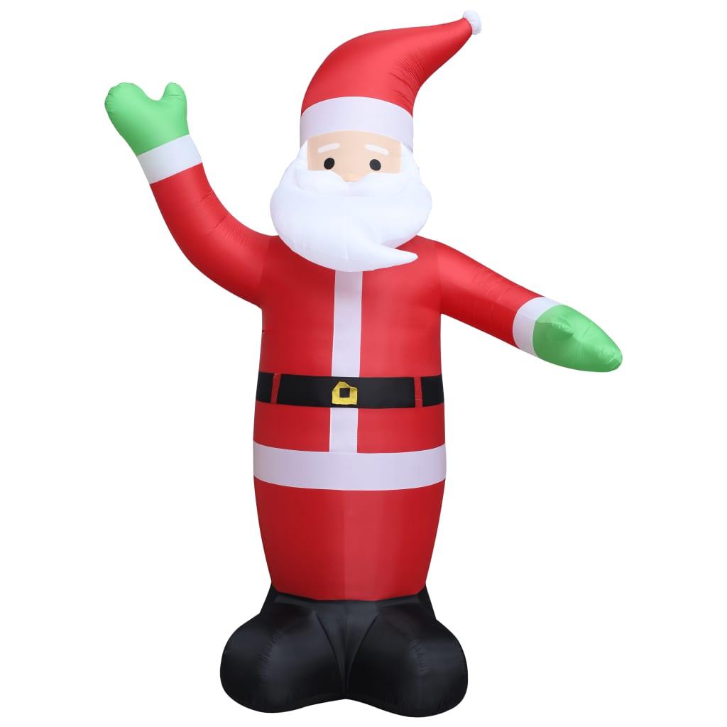 vidaXL Άγιος Βασίλης Φουσκωτός Χριστουγεννιάτικος LED IP44 600 εκ. XXL