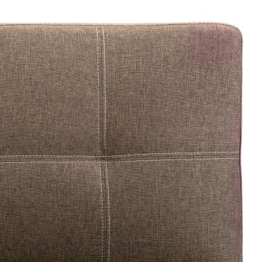vidaXL 2-sitssoffa brun tyg[10/12]