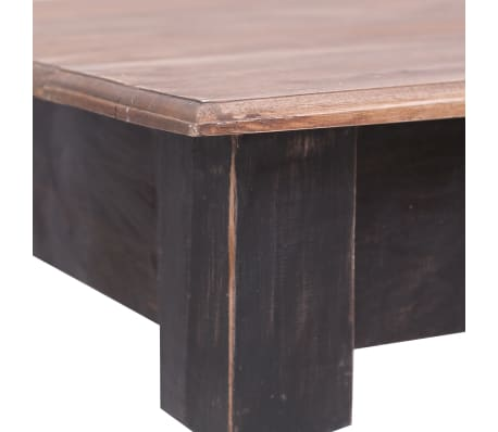 vidaXL Stalas su 3 stalčiais, 117x57x75cm, raudonmedžio masyvas[6/9]