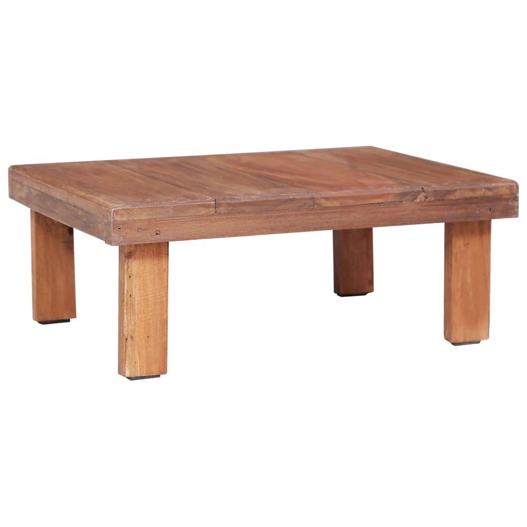 Konferenční stolek 60 x 45 x 23 cm masivní recyklované dřevo