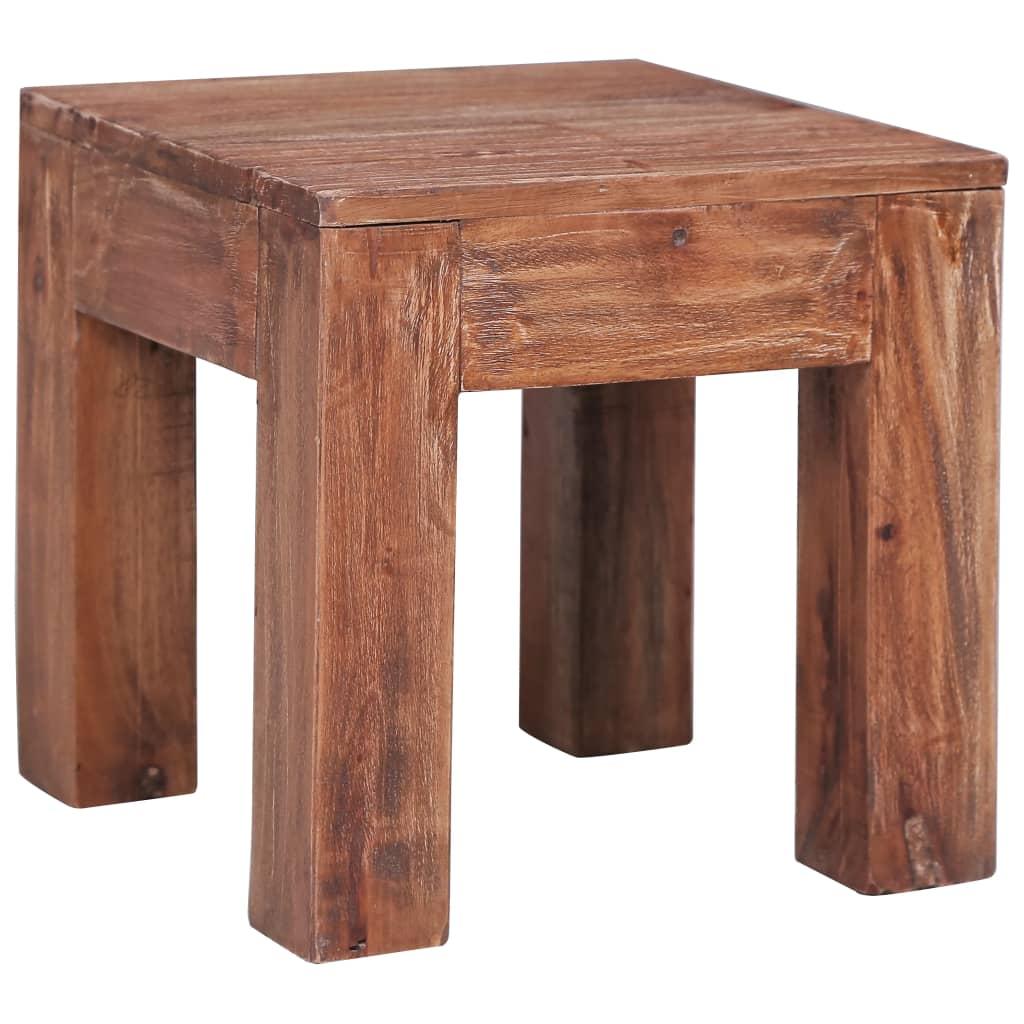 Konferenční stolek 30 x 30 x 30 cm masivní recyklované dřevo