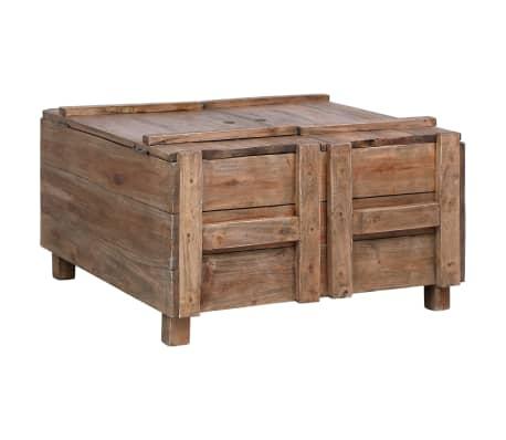 vidaXL Konferenční stolek 65 x 65 x 38 cm masivní recyklované dřevo