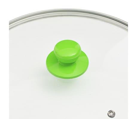 vidaXL Set de vase, 8 buc., verde, aluminiu[8/10]