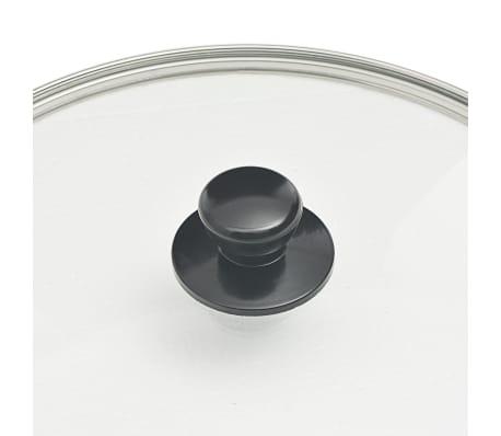 vidaXL 8-delige Kookgereiset aluminium zwart[8/10]