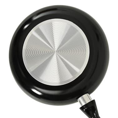 vidaXL 8-delige Kookgereiset aluminium zwart[10/10]