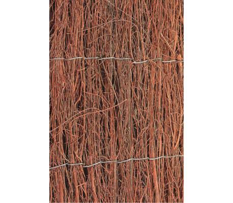 Nature Paravents de jardin 2 pcs Bruyère 1 x 5 m 1 cm d'épaisseur[1/3]