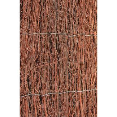 Nature Paravents de jardin 2 pcs Bruyère 1 x 5 m 1 cm d