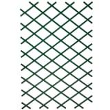 Nature 2 st Tuinlatwerken 100x200 cm PVC groen