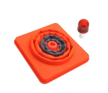 ProPlus 2 st Verkeerskegels inklapbaar met LED's[3/5]