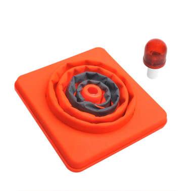 ProPlus 2 st Verkeerskegels inklapbaar met LED